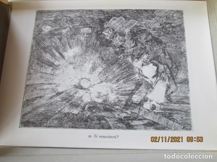 Arte: LOS DESASTRES DE LA GUERRA - FRANCISCO GOYA Y LUCIENTE - 83 LÁMINAS - 1983 - PORTADA 1ª ed. 1863. - Foto 15 - 241301295