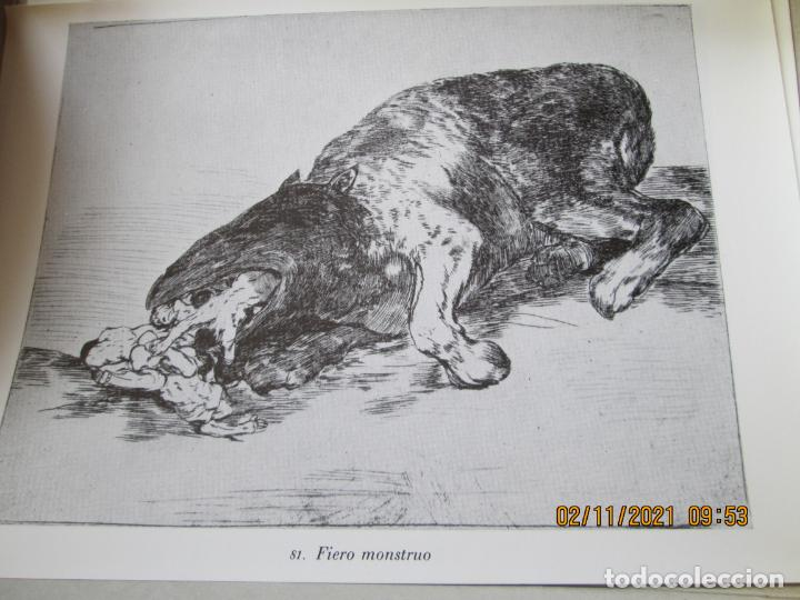 Arte: LOS DESASTRES DE LA GUERRA - FRANCISCO GOYA Y LUCIENTE - 83 LÁMINAS - 1983 - PORTADA 1ª ed. 1863. - Foto 16 - 241301295