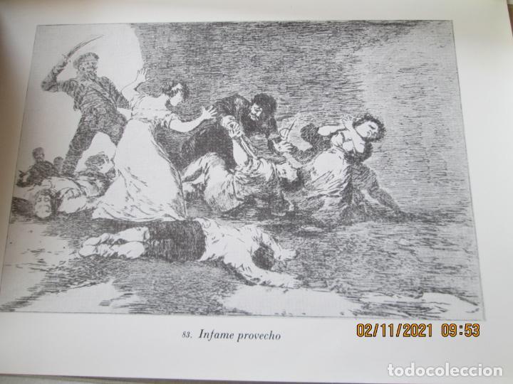 Arte: LOS DESASTRES DE LA GUERRA - FRANCISCO GOYA Y LUCIENTE - 83 LÁMINAS - 1983 - PORTADA 1ª ed. 1863. - Foto 18 - 241301295