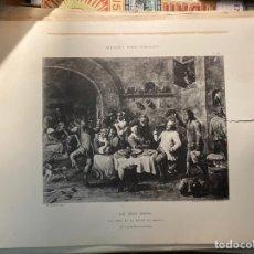 Arte: MUSEO DEL PRADO. LA CENA EN LA NOCHE DE REYES. Lote 243569045