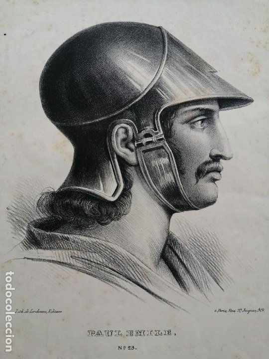 Arte: Litografía antigua. Francia siglo XlX - Foto 2 - 244018385
