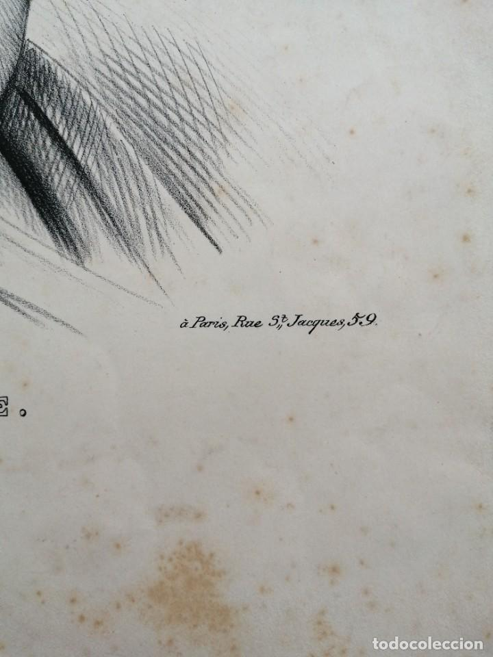 Arte: Litografía antigua. Francia siglo XlX - Foto 4 - 244018385