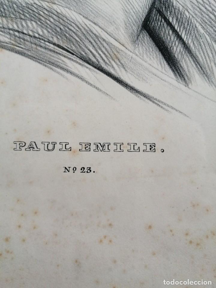 Arte: Litografía antigua. Francia siglo XlX - Foto 5 - 244018385