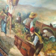 Arte: PINTURA QUADRE DE LA VINYA CATALANA. Lote 244640195