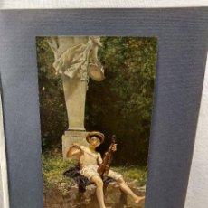 Arte: IN ARRADIEN DE EDOARDO DALBONO, PLANCHA Nº 135 DE MEISTER DER FARBE 1905, MUSICA. Lote 245371460