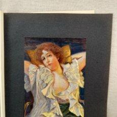 Arte: ENSUEÑO DE WALTHER SCHOLZ, PLANCHA Nº 136 DE MEISTER DER FARBE 1905,. Lote 245375775