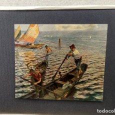 Arte: EN VENECIA DE ETTORE TITO, PLANCHA Nº 141 DE MEISTER DER FARBE 1905,. Lote 245382070