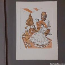 Arte: TARJETA DE A. OPISSO. 17 X 12 CM. EXCELENTE ESTADO.. Lote 245472320