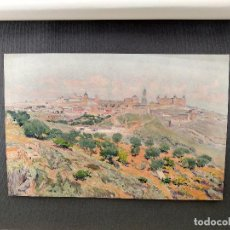 Arte: VISTA DE TOLEDO DE AURELIANO DE BERUETE, PLANCHA Nº 233 DE MEISTER DER FARBE 1907,. Lote 245551625