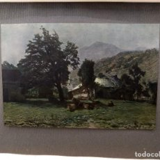 Arte: NOCHE DE LUNA DE ERNST VICTOR , PLANCHA Nº 236 DE MEISTER DER FARBE 1907, PAISAJE. Lote 245561220
