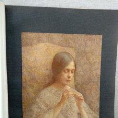 Arte: TRABAJO MINUCIOSO DE EUGENE LOUP , PLANCHA Nº 237 DE MEISTER DER FARBE 1907,. Lote 245561815