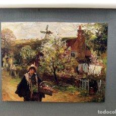 Arte: LA REINA GITANA DE JOHN ROBERTSON REID, PLANCHA Nº 240 DE MEISTER DER FARBE 1907,. Lote 245564115