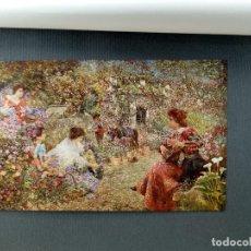 Arte: JARDIN DE FLORES DE JOSE GALLEGOS, PLANCHA Nº 242 DE MEISTER DER FARBE 1907,. Lote 245565230