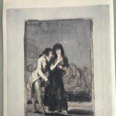 Arte: GOYA Y LUCIENTES, FRANCISCO, 32 X 23,5 CMTS.. Lote 248798645
