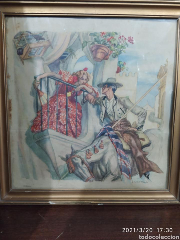 Arte: 2 Láminas de C. S. de Tejada - Foto 2 - 249236540