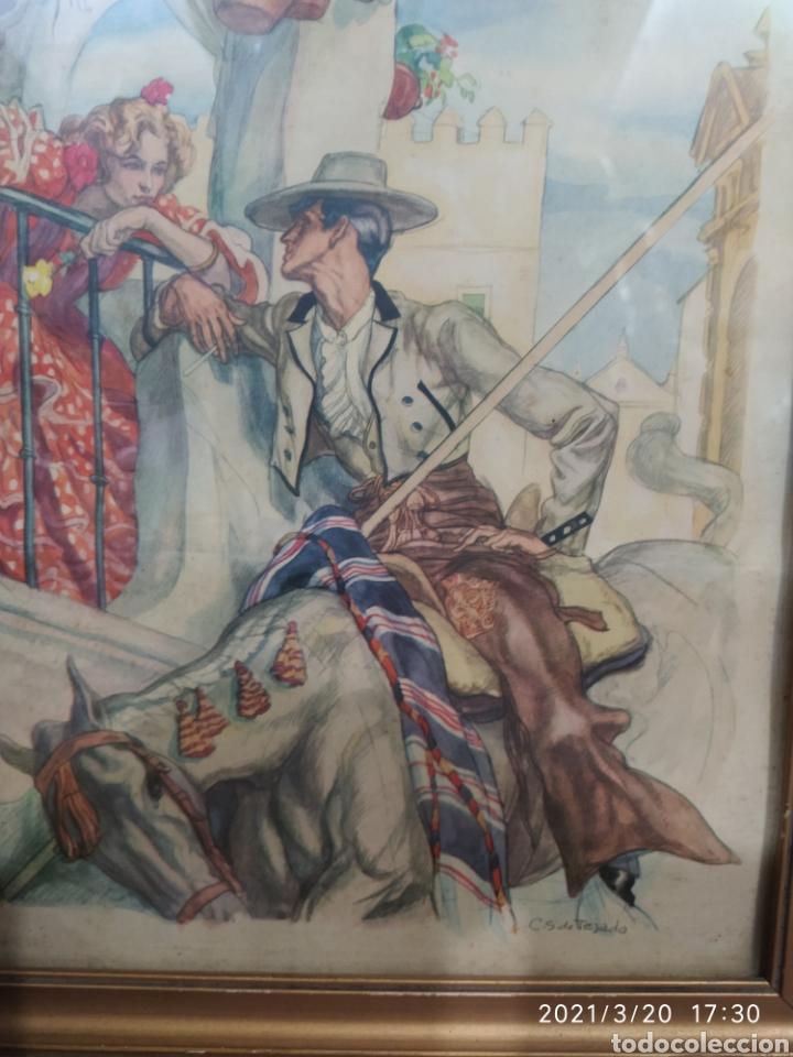 Arte: 2 Láminas de C. S. de Tejada - Foto 6 - 249236540