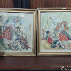 Arte: 2 LÁMINAS DE C. S. DE TEJADA. Lote 249236540