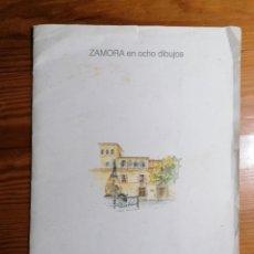 Arte: ZAMORA EN OCHO DIBUJOS. FERNANDO LOZANO BORDEL. AÑO 1997. Lote 251783330