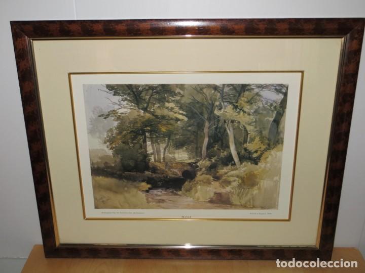 Arte: Par conjunto colección cuadros láminas acuarelas antiguas John Middleton (1827-1856) Norfolk England - Foto 3 - 254821075