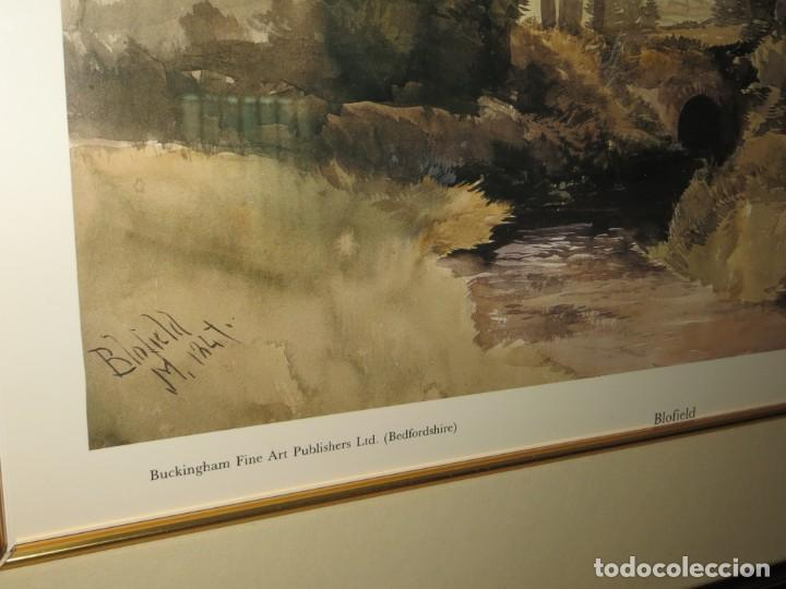 Arte: Par conjunto colección cuadros láminas acuarelas antiguas John Middleton (1827-1856) Norfolk England - Foto 6 - 254821075