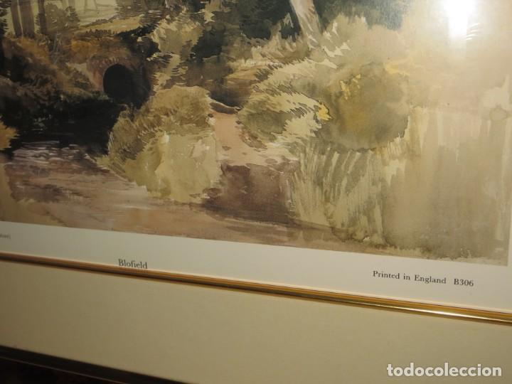 Arte: Par conjunto colección cuadros láminas acuarelas antiguas John Middleton (1827-1856) Norfolk England - Foto 7 - 254821075