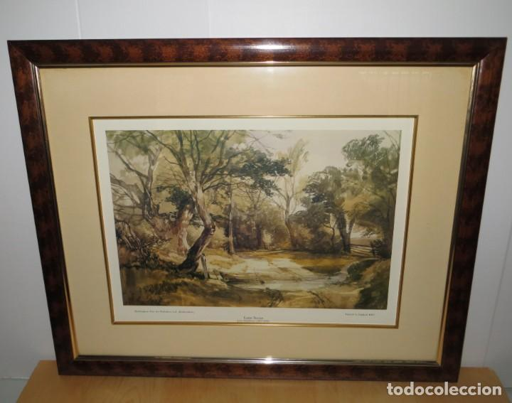 Arte: Par conjunto colección cuadros láminas acuarelas antiguas John Middleton (1827-1856) Norfolk England - Foto 18 - 254821075