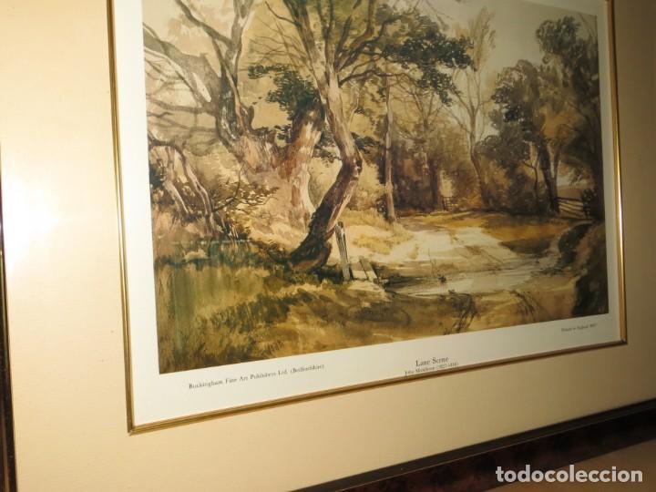 Arte: Par conjunto colección cuadros láminas acuarelas antiguas John Middleton (1827-1856) Norfolk England - Foto 21 - 254821075