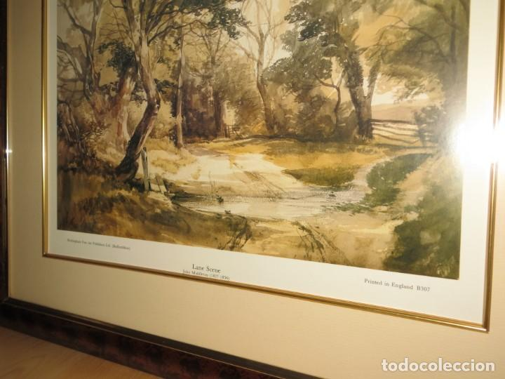 Arte: Par conjunto colección cuadros láminas acuarelas antiguas John Middleton (1827-1856) Norfolk England - Foto 22 - 254821075