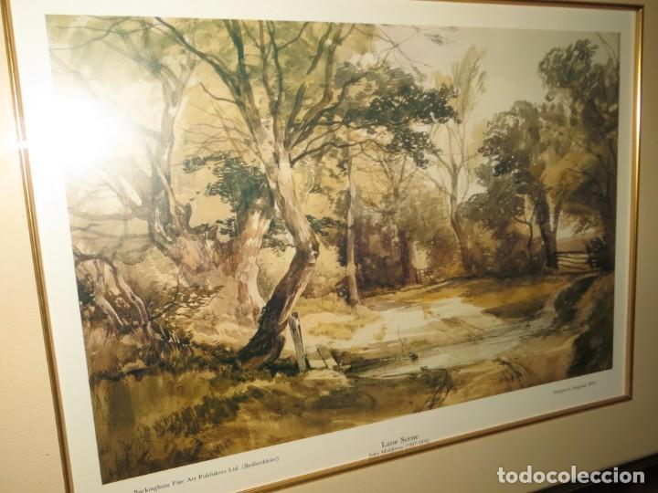 Arte: Par conjunto colección cuadros láminas acuarelas antiguas John Middleton (1827-1856) Norfolk England - Foto 24 - 254821075
