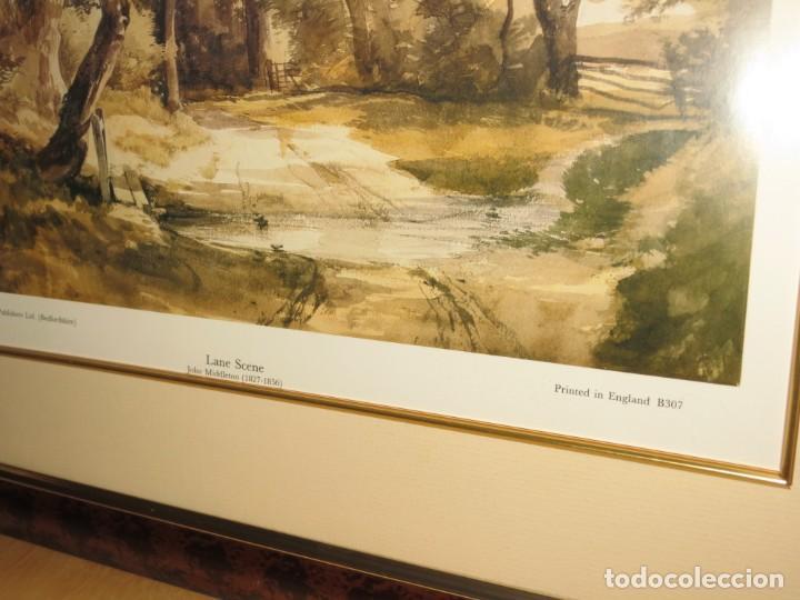 Arte: Par conjunto colección cuadros láminas acuarelas antiguas John Middleton (1827-1856) Norfolk England - Foto 25 - 254821075