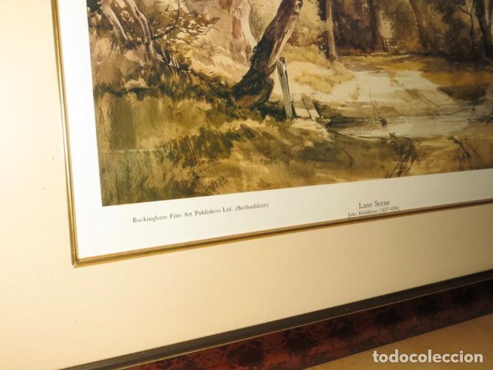 Arte: Par conjunto colección cuadros láminas acuarelas antiguas John Middleton (1827-1856) Norfolk England - Foto 26 - 254821075