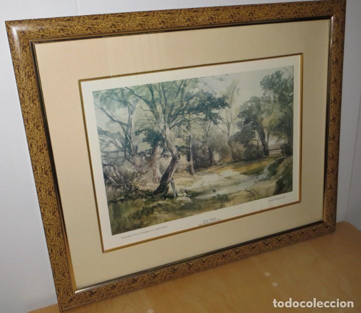 Arte: Par conjunto colección cuadros láminas acuarelas antiguas John Middleton (1827-1856) Norfolk England - Foto 3 - 254821220