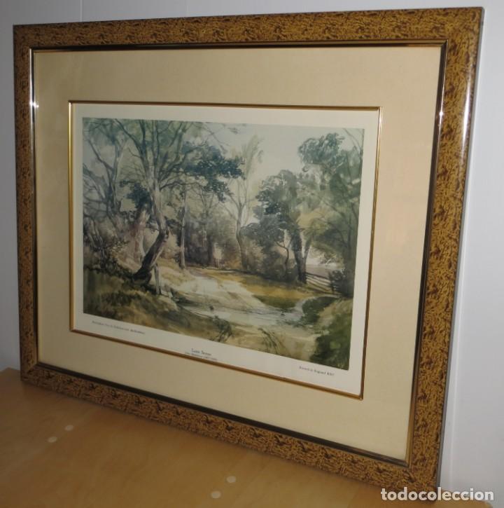 Arte: Par conjunto colección cuadros láminas acuarelas antiguas John Middleton (1827-1856) Norfolk England - Foto 4 - 254821220