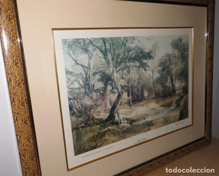 Arte: Par conjunto colección cuadros láminas acuarelas antiguas John Middleton (1827-1856) Norfolk England - Foto 5 - 254821220