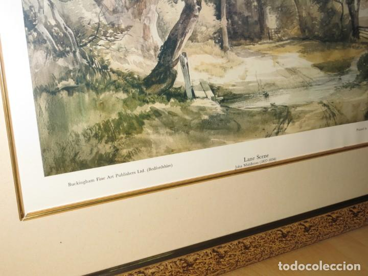Arte: Par conjunto colección cuadros láminas acuarelas antiguas John Middleton (1827-1856) Norfolk England - Foto 7 - 254821220