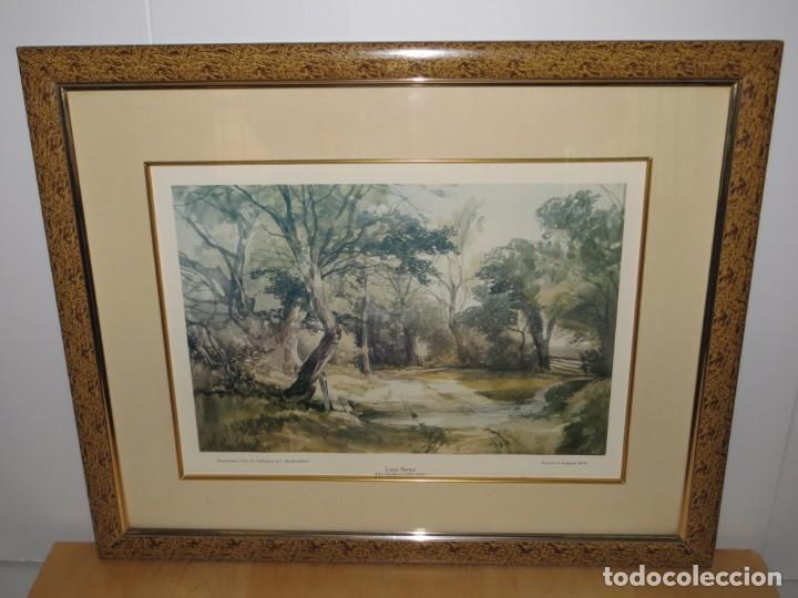 Arte: Par conjunto colección cuadros láminas acuarelas antiguas John Middleton (1827-1856) Norfolk England - Foto 9 - 254821220