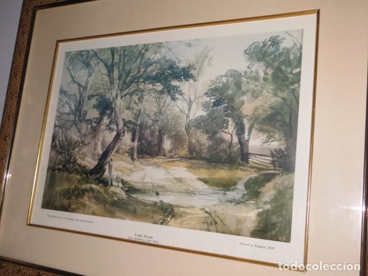 Arte: Par conjunto colección cuadros láminas acuarelas antiguas John Middleton (1827-1856) Norfolk England - Foto 10 - 254821220