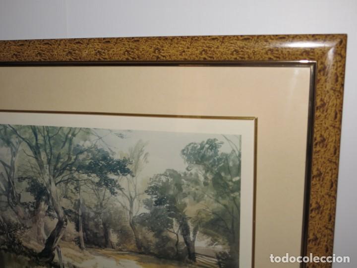 Arte: Par conjunto colección cuadros láminas acuarelas antiguas John Middleton (1827-1856) Norfolk England - Foto 12 - 254821220