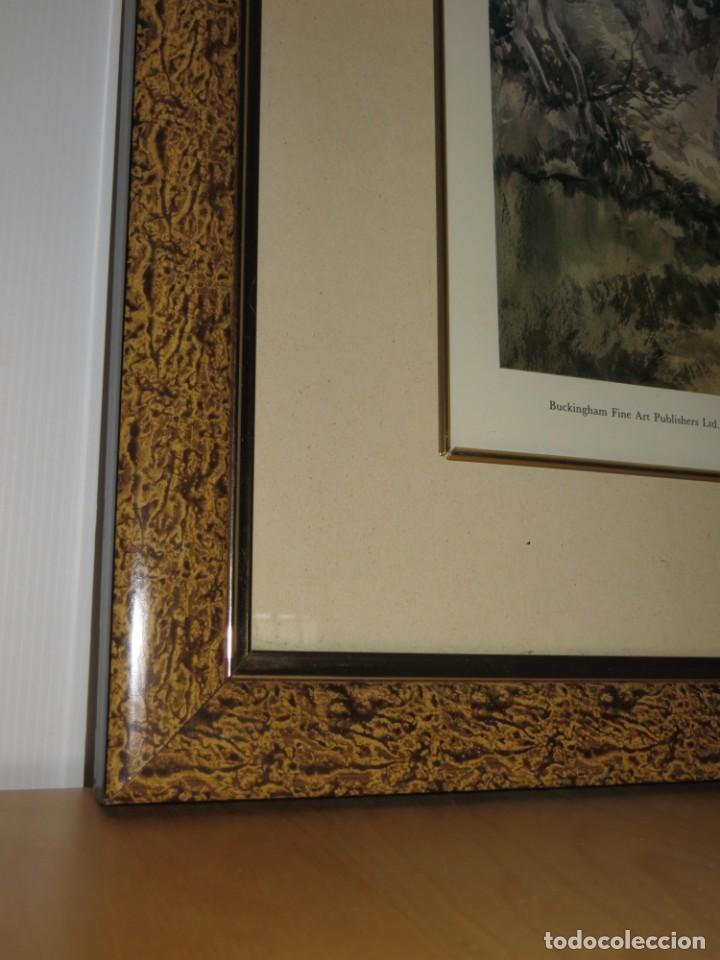 Arte: Par conjunto colección cuadros láminas acuarelas antiguas John Middleton (1827-1856) Norfolk England - Foto 14 - 254821220