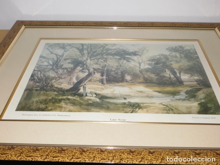 Arte: Par conjunto colección cuadros láminas acuarelas antiguas John Middleton (1827-1856) Norfolk England - Foto 16 - 254821220