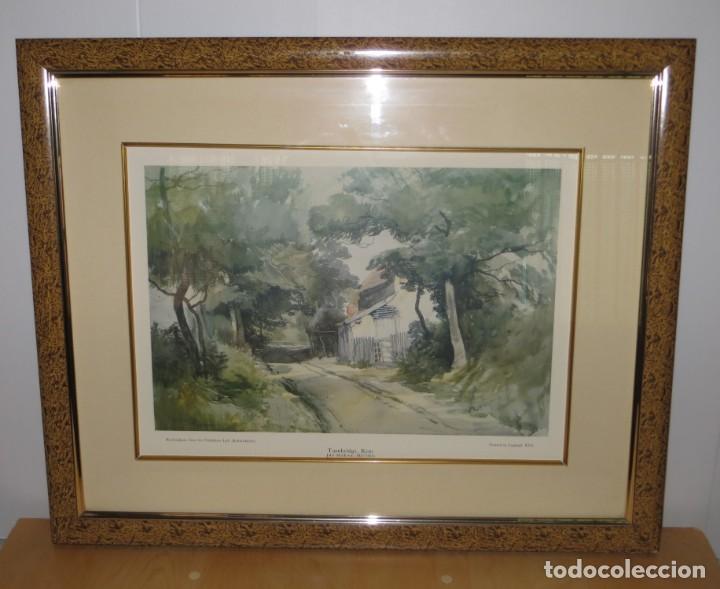 Arte: Par conjunto colección cuadros láminas acuarelas antiguas John Middleton (1827-1856) Norfolk England - Foto 19 - 254821220