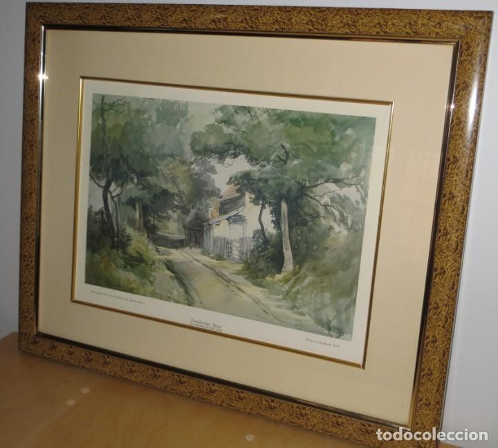 Arte: Par conjunto colección cuadros láminas acuarelas antiguas John Middleton (1827-1856) Norfolk England - Foto 20 - 254821220