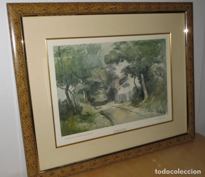 Arte: Par conjunto colección cuadros láminas acuarelas antiguas John Middleton (1827-1856) Norfolk England - Foto 21 - 254821220