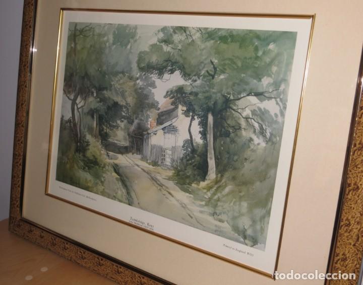 Arte: Par conjunto colección cuadros láminas acuarelas antiguas John Middleton (1827-1856) Norfolk England - Foto 23 - 254821220