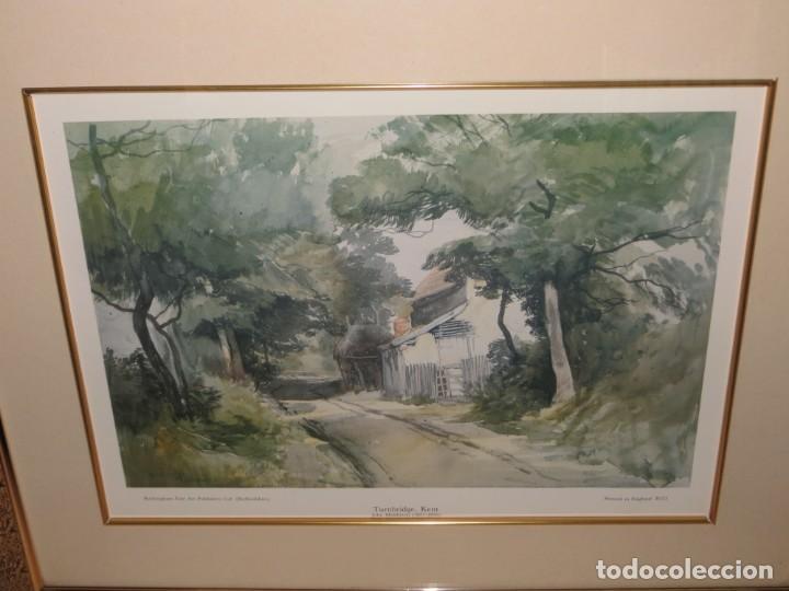 Arte: Par conjunto colección cuadros láminas acuarelas antiguas John Middleton (1827-1856) Norfolk England - Foto 24 - 254821220