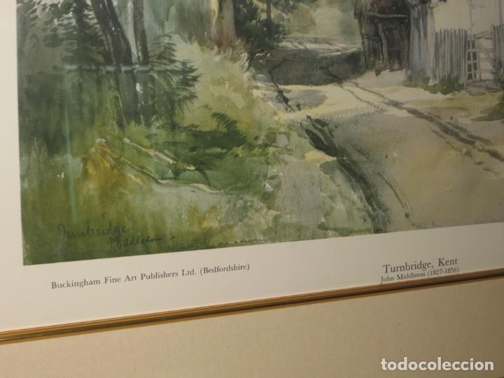 Arte: Par conjunto colección cuadros láminas acuarelas antiguas John Middleton (1827-1856) Norfolk England - Foto 25 - 254821220