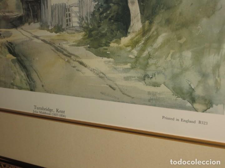 Arte: Par conjunto colección cuadros láminas acuarelas antiguas John Middleton (1827-1856) Norfolk England - Foto 26 - 254821220
