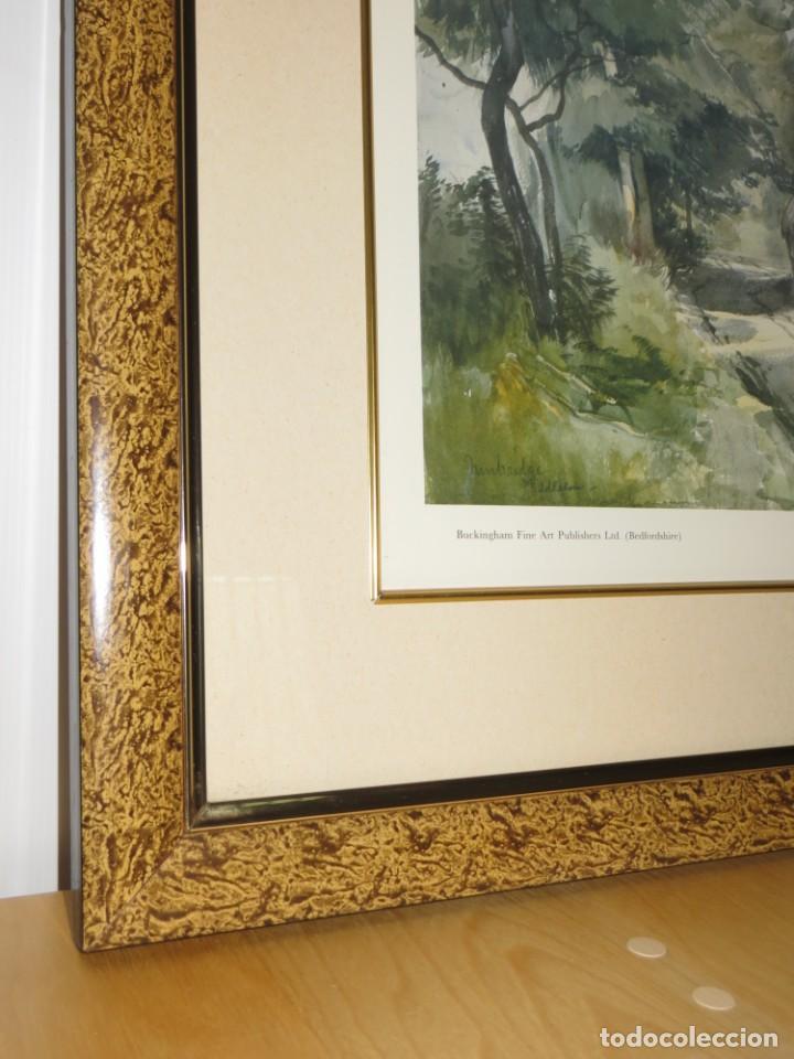 Arte: Par conjunto colección cuadros láminas acuarelas antiguas John Middleton (1827-1856) Norfolk England - Foto 28 - 254821220