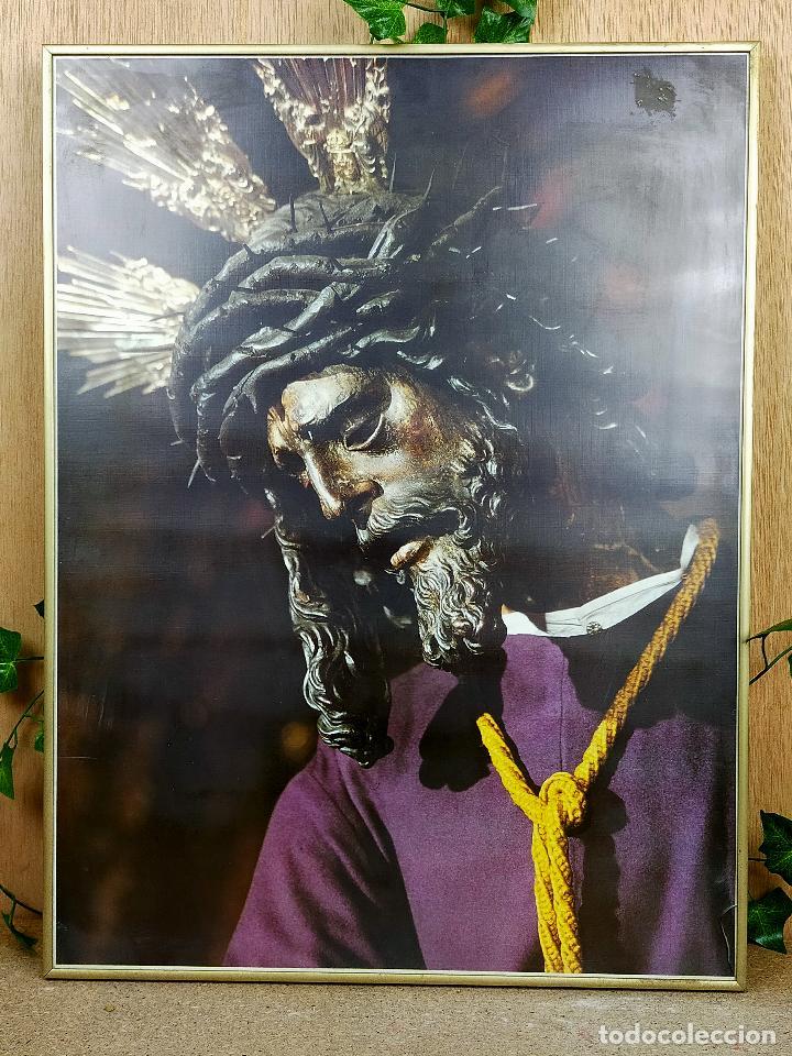 CUADRO RELIGIOSO 61 X 47 CM (Arte - Láminas Antiguas)