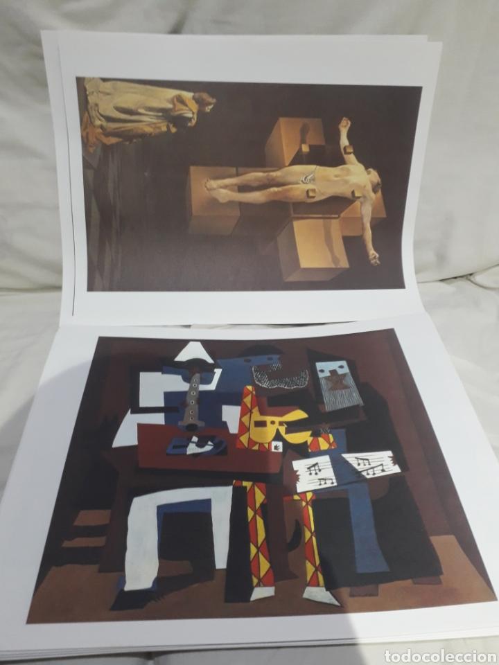 Arte: Coleccion 30 láminas de arte El Mundo Argentaria Renault Grandes genios? - Foto 2 - 255007215
